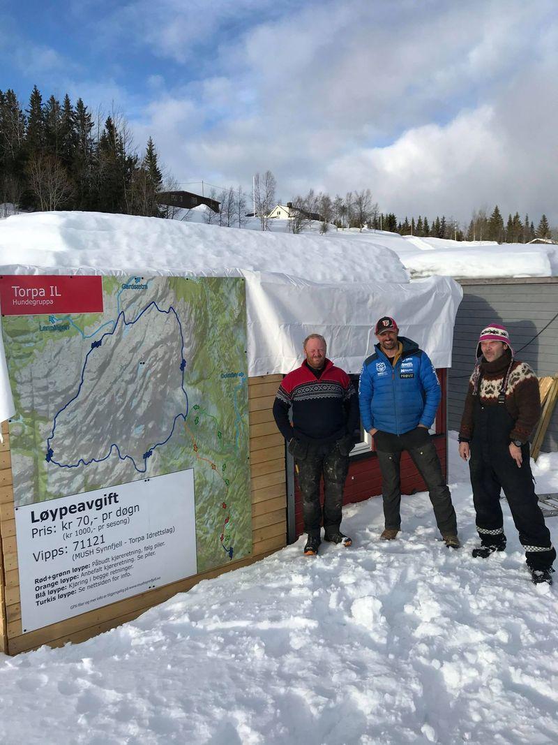 Camp Halden - startpunkt for det fantastiske løypenettet i Synnfjellet